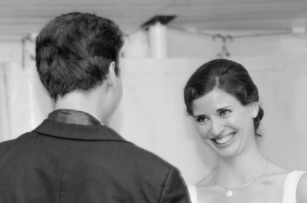 The bride smile (2584 visits) Wedding pictures | The bride smile