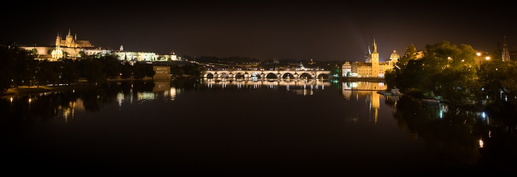 Charles Bridge by night (2203 visits) Prague, Czech Republic